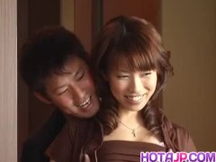 Big tits wife, Shizuku Natsukawa, receives a good  - More at hotajp com