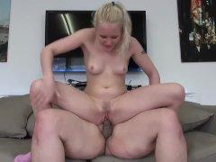 Lola Taylor Takes Facial After Rough Sex