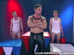 Clubinfernodungeon Handballing Coach Doms His 2 Wide Open Wild Bottoms