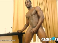 Flirt4free - Carlos Baez - Torn Black Teddy Milks His Curved Monster Bbc
