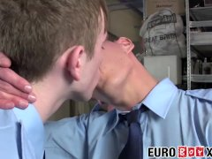 Big Prick European Youngsters Chad Chambers And Chad Cole Pound Hard