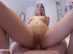 Horny Busty Chick First Time on Digital Camera