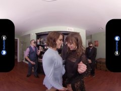 Badoinkvr Spraying 3 Way With Riley Reid & Adriana Chechik