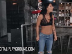 Small Knocker Athletic Barmaid Alissa Jayde Gets Pounded - Digital Playground