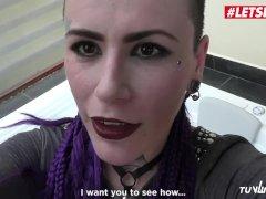 Letsdoeit - Inked Colombian Makes Her Vengeance Fuck-fest Gauze In The Jacuzzi