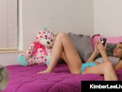 Horny Step Sister Kimber Lee Plumbs Your Stiff Chisel Until You Cum