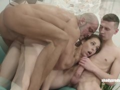 Shadyproducer Sexy Czech Couple Tricked Into First Threesome