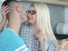 She Is Nerdy - Cornelia - Hookup And Pizza With Jizz Dressing