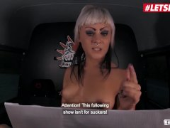 LETSDOEIT - Horny German Hotties Ride A Mature Cock In The Sex Bus