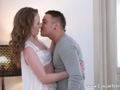 Casual Teen Sex - Emma Fantazy - Surprise fuck with Tinder date