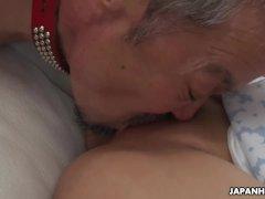 Japanese blonde, Sara Mizuhara likes to have kinky threesomes, uncensored