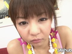 JAVHUB Petite Hikaru Aoyama fucked and creampied