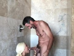 Luna Starlet Chesty Blondie Honey Pulverized In The Bathroom - Mysexmobile