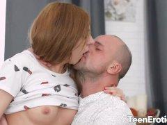 Making Sweet Love to Stunning Redhead Teen Veronika Fare