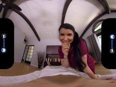 Badoinkvr Getting Your Chakras Aligned With Tatted Stunner Romi Rain