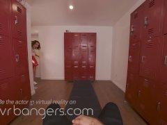VRBangers A Wild football threesome with Adriana Chechik