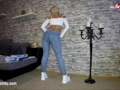 Mydirtyhobby - Premature Orgasm In The Gullet Of Super-steamy Blonde