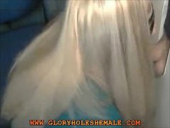 Shemale Sucking Moaning Guy In The Gloryhole