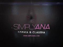 Claudia Macc & Sophia Mercy - Ass-fuck Climax Lesbians