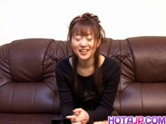 Mai Does Hand Job After Unveiling Udders And Having Puss - Greater At Hotajp Com