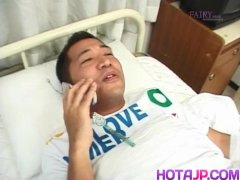 Saki Mutoh Nurse Has Wooly Labia Porked With Man Sausage And - Greater At Hotajp Com