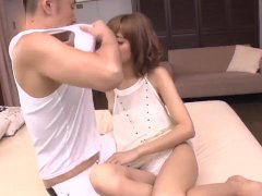 Kana Aono Pummeled In Doggy And Jizzed With Her Gams Open - More At 69avs Com
