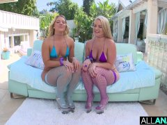All Assfuck Bouncy Caboose Wedging With Candice Dare And Lisey Sweet