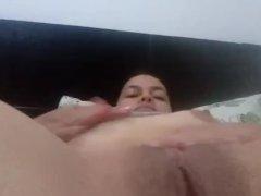 Chica Caliente Masturbandoce