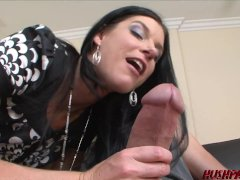 Insatiable Cougar India Summer Deep-throats And Humps Monster Cock