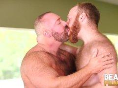 Bearfilms Burly Hunk Brad Kalvo Fucks Ginger Hunk Bareback