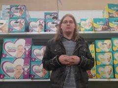 Luier in Walmart