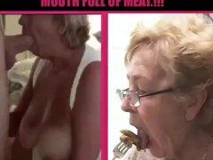 Cathy Bone Throating Blowjob Spunk Slut Granny Luvs Providing Blowjobs