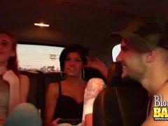 Backseat Oral Jobs With Warm Honey Jayden