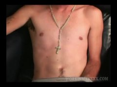 Mature Amateur Whiteboy Jerking Off