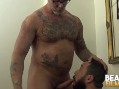 Bearfilms Latino Bottom Julian Torres Fucked By Hairy Bears