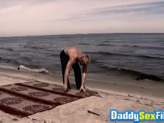 Christopher Daniels and Dirk Caber Drill Deep On The Beach