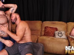 Bearfilms Angel Ferrari Fucks Beefy Otter While Hidden Cam Wanks
