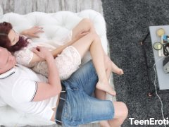 Redhead Michelle Can Spreads Her Tight Teen Ass for a Deep Anal Experience