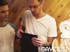 Gaycest - Draped Ravages Twunk No Condom In Sauna