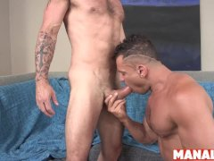 Manalized Muscled Bottom Angelo Marconi Bashed And Cums