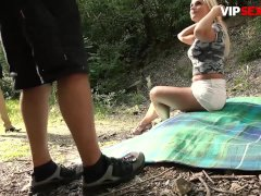VIPSEXVAULT - Big Tits Czech MILF Rossella Visconti Fucked In The Forest