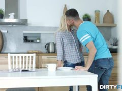Dirty Flix - Cornelia - Sex and pizza with cum dressing