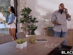 BLACKED College student Alexis seduces her sister's hubby