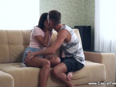 Casual Teen Sex - Olivia Cassi - Casual Fuck With Sexy Spanking