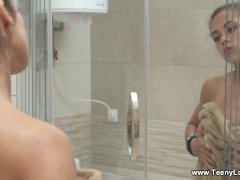 Teeny Lovers - Olivia Cassi - Agile teen loves doggystyle