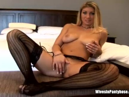 Wife is sexy in black