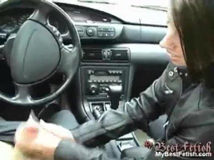 Ручная работа в автомобиле