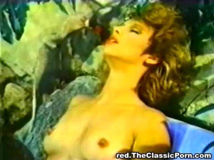 Хулиган показывает леди порно и шпилит сзади