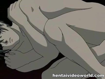 Мужик делает кунилингус и доводит жену до оргазма