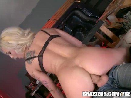 Межрасовый секс в тюрьме